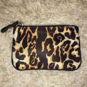 Victoria's Secret cheetah print coin purse